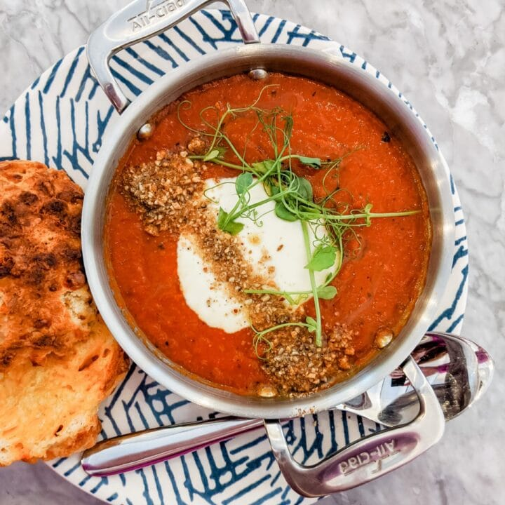 tomato soup with toast recipe found one mandyolive.com