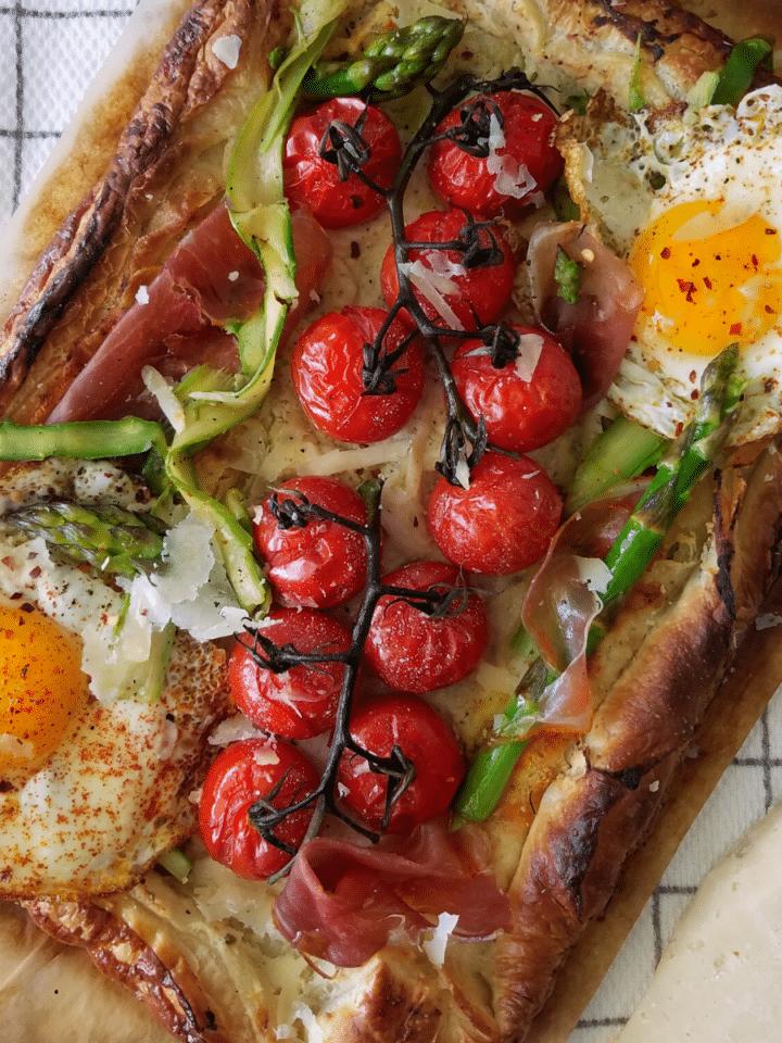 tomato tart recipe mandyolive.com